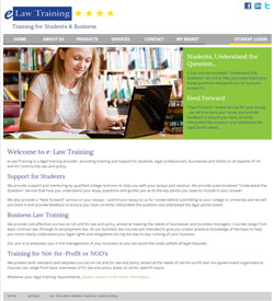 e-Law Training