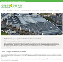 Green Energy Sustainable Solutions